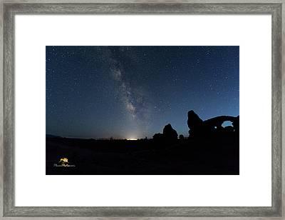The Milky Way Framed Print