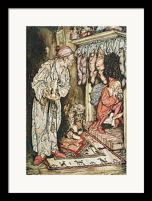 Saint Nicholas Framed Prints