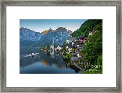 The Pearl Of Austria Framed Print