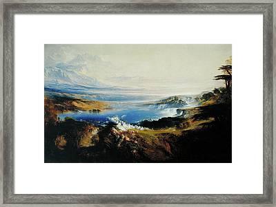 The Plains Of Heaven Framed Print