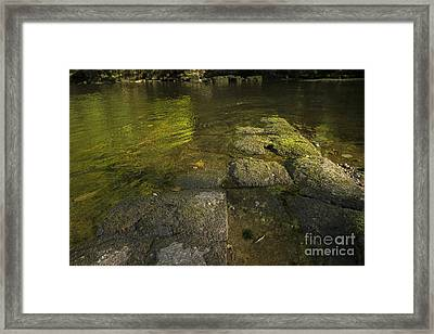 The River Swale Framed Print