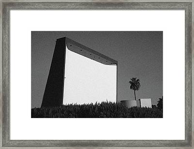 The Roadium Drive In Theatre/swap Meet Framed Print