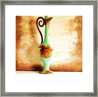 The Rusty Piece Framed Print by Marsha Heiken