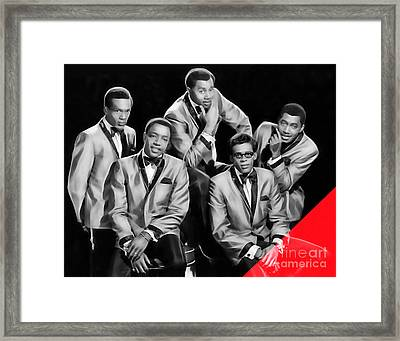 The Temptations Collection Framed Print by Marvin Blaine