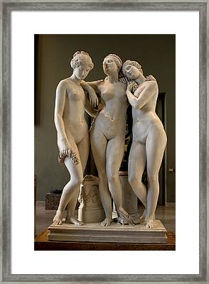 The Three Graces Framed Print by Carl Purcell