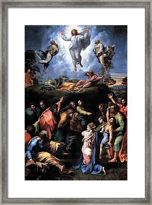 The Transfiguration Framed Print