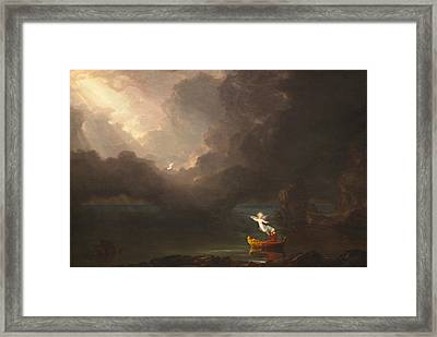 The Voyage Of Life, Old Age Framed Print