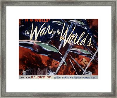 The War Of The Worlds, 1953 Framed Print