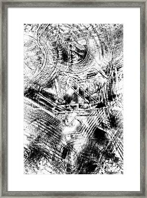 The Web Framed Print by Tom Gowanlock