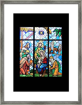 The Window Framed Print by Munir Alawi