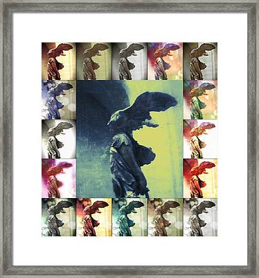 The Winged Victory - Paris - Louvre Framed Print by Marianna Mills
