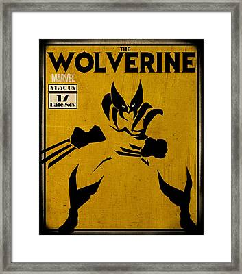 The Wolverine Framed Print by Kyle West