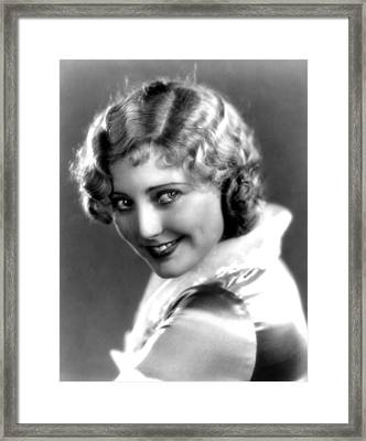 Thelma Todd, Portrait Ca. 1935 Framed Print