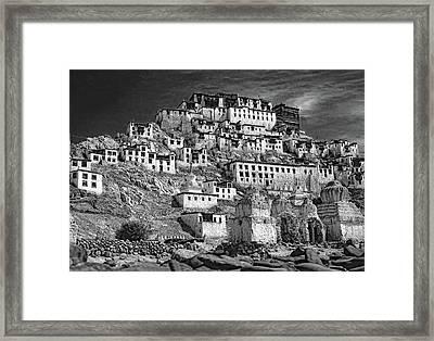 Thiksey Monastery Framed Print