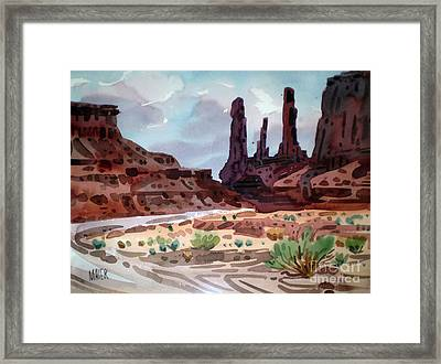 Three Sisters Framed Print by Donald Maier