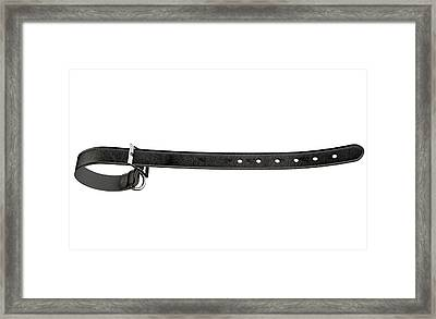 Tightening Belt Framed Print by Allan Swart
