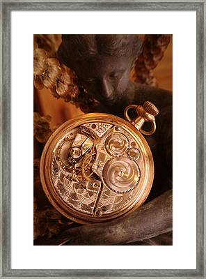 Time... Framed Print
