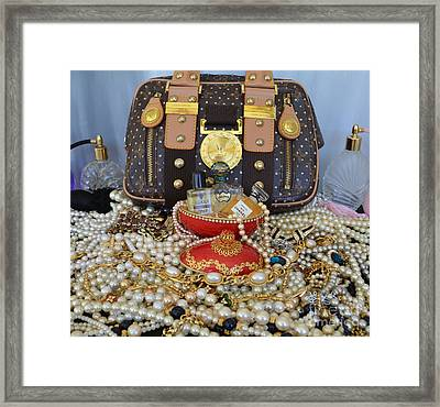 Timeless Accessories  Framed Print