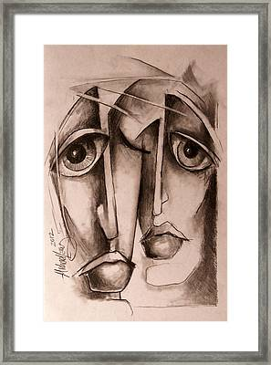 'together' Framed Print by Michael Lang