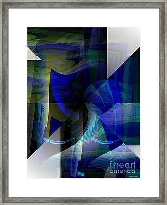 Transparency 4   Framed Print by Thibault Toussaint