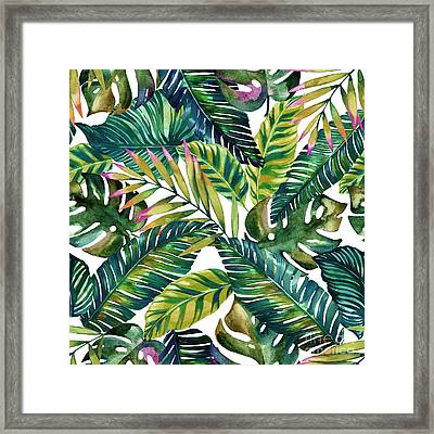 Tropical  Framed Print