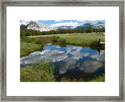 Tuolumne Meadows Framed Print