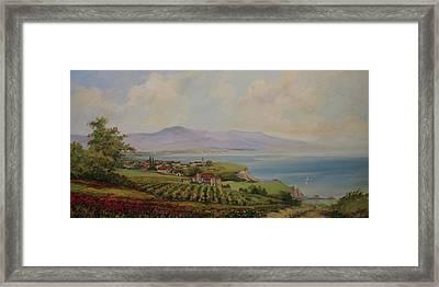 Tuscan Landscape Framed Print by Tigran Ghulyan