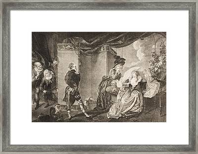 Twelfth Night, Or, What You Will. Act Framed Print