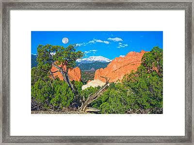 Typical Colorado  Framed Print by Bijan Pirnia
