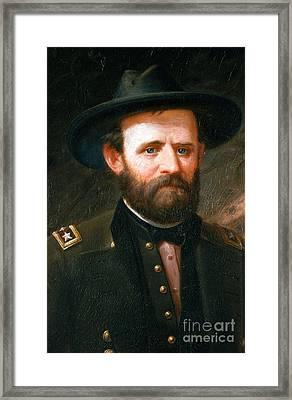 Ulysses S. Grant, 18th American Framed Print