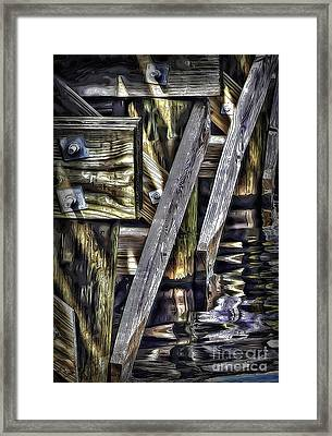 Under The Boardwalk Framed Print by Walt Foegelle