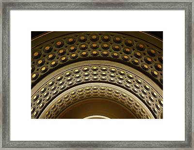 Union Station Dc Framed Print