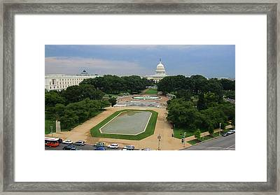 United States Capitol Framed Print by Michael French