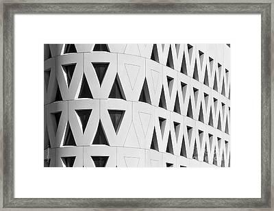 University Of Cincinnati Lindner Center Framed Print