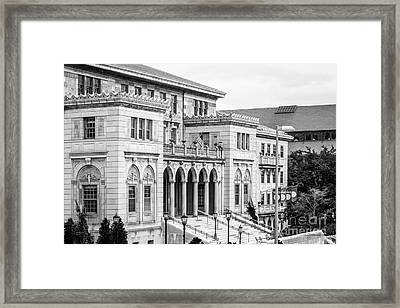 University Of Wisconsin Madison Memorial Union Framed Print