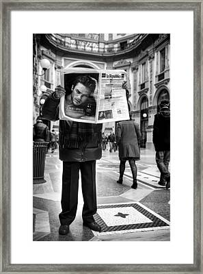 Untitled Framed Print by Diego Bardone