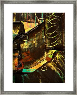 Untitled Framed Print by Teo Santa