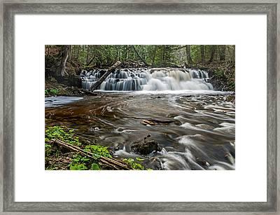 Upper Mosquito Falls Framed Print