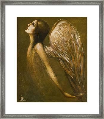 Uriel Guardian Angel Framed Print