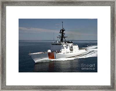 U.s. Coast Guard Cutter Waesche Framed Print