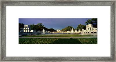 U.s. World War II Memorial Framed Print