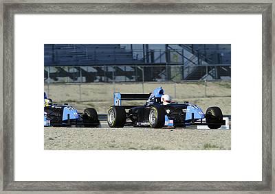 Utah Grand Prix Framed Print by Dennis Hammer