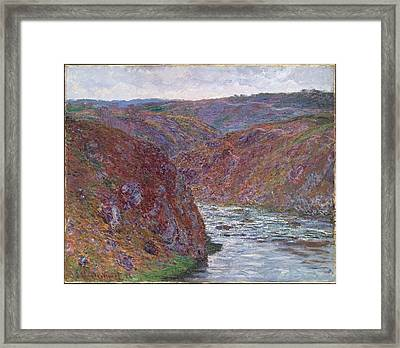 Valley Of The Creuse Framed Print