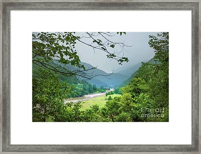 Valley Framed Print by Svetlana Sewell