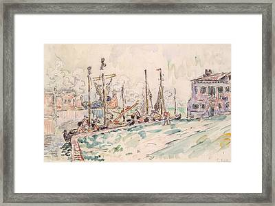 Venice Framed Print by Paul Signac