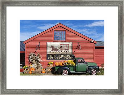 Vermont Country Store Framed Print