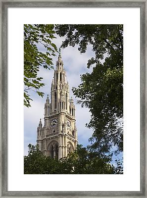 Vienna City Hall Framed Print