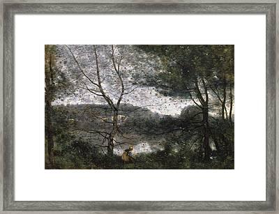 Ville-d'avray Framed Print
