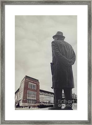 Vince Lombardi Framed Print by Joel Witmeyer