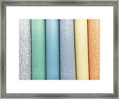Vinyl Rolls Framed Print by Tom Gowanlock
